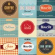 Vintage Label Design Set — Stock Vector #29549333