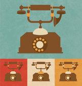 Retro Icons - Telephone — Stock Vector