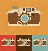 Retro Icons - Camera — Stock Vector