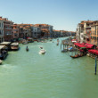 16. Jul 2012 - Panorama of Grand Canal in Venice, Italy — Stock Photo #13825072
