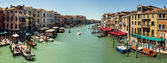 16. Jul 2012 - Panorama of Grand Canal in Venice, Italy — Stock Photo
