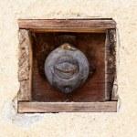 Retro vintage switch — Stock Photo
