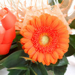 Stock Photo: Fresh bouquet from orange gerbers