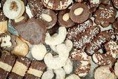 Gâteaux de noël se bouchent — Photo