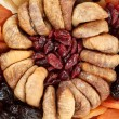 Various dried exotic fruits - Stock Photo
