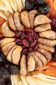Various dried exotic fruits — Stock Photo