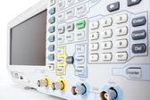 профессиональные современное тестовое оборудование - анализатор — Стоковое фото