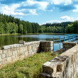Small water water reservoir — Stock Photo