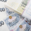 Czech banknotes crowns — Stock Photo #33744413