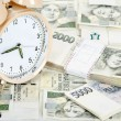 Time is money business concept — Stockfoto #33856167
