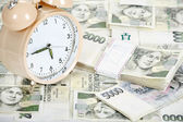 Time is money business concept — Stock Photo