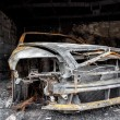 Close up photo of a burned out car — Stock Photo #36885027