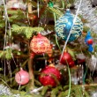 Decorated christmas tree with balls — Stock Photo #37994035
