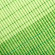 Green stripe fabric texture — Stock Photo