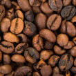 Stock Photo: Roasted coffee beans background