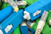 Fiber optic connectors — Stock Photo