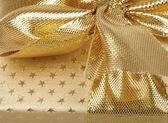 Dettaglio del nastro dorato — Foto Stock