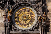 The Prague astronomical clock, or Prague orloj — Stock fotografie