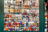 Souvenir shop at havels Market — Stockfoto