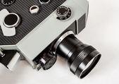 Old 8mm movie camera — Stock Photo