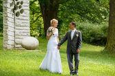 美丽的年轻夫妇 — 图库照片