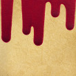 Old paper texture with  blood — Stock Photo
