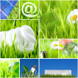 Environment and green energy concept — Foto de Stock