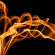 Fire smoke — Stock Photo
