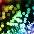 Fiber optics - Foto Stock