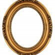 Vintage gold picture frame  — Stock Photo