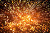 Spark explosion — Stock Photo