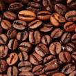 Roasted Coffee beans closeup background — Stock Photo #19907689