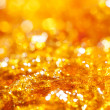 Caramel gold glitter — Stock Photo