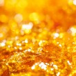 Stock Photo: Caramel gold glitter