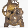 Antique clock gears  — Stock Photo