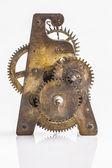 Antique clock gears — Stock Photo