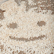 Crunchy in a shape of smily face — Stock Photo