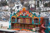 Tivoli in the town — Stock Photo