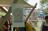 The viking' flag — Foto Stock