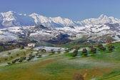 Mountain range Italy — Stock Photo