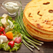 Ossetian pies. — Stock Photo