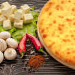 Ossetian pie. - Stock Photo