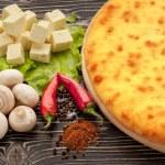 Ossetian pie. — Stock Photo