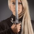 The blade of fashion. - Stock Photo