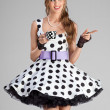 The spotted Alice. — 图库照片