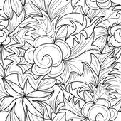 Bezešvé květinový vzor — Stock vektor