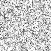 无缝花卉图案 — 图库矢量图片