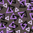 Royalty-Free Stock Vektorfiler: Dark seamless pattern