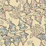 Vector seamless flower background — Stock Vector #23203876