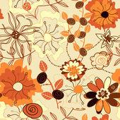 Floral motif — Stock Vector